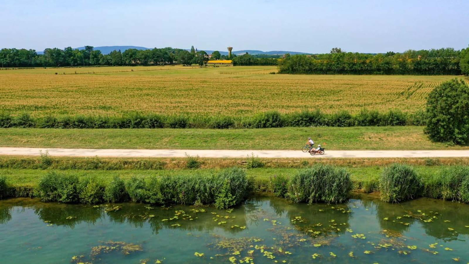 La Voie Bleue Moselle-Saône à vélo